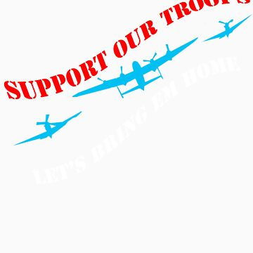 Support Our Troops by tranGraphics
