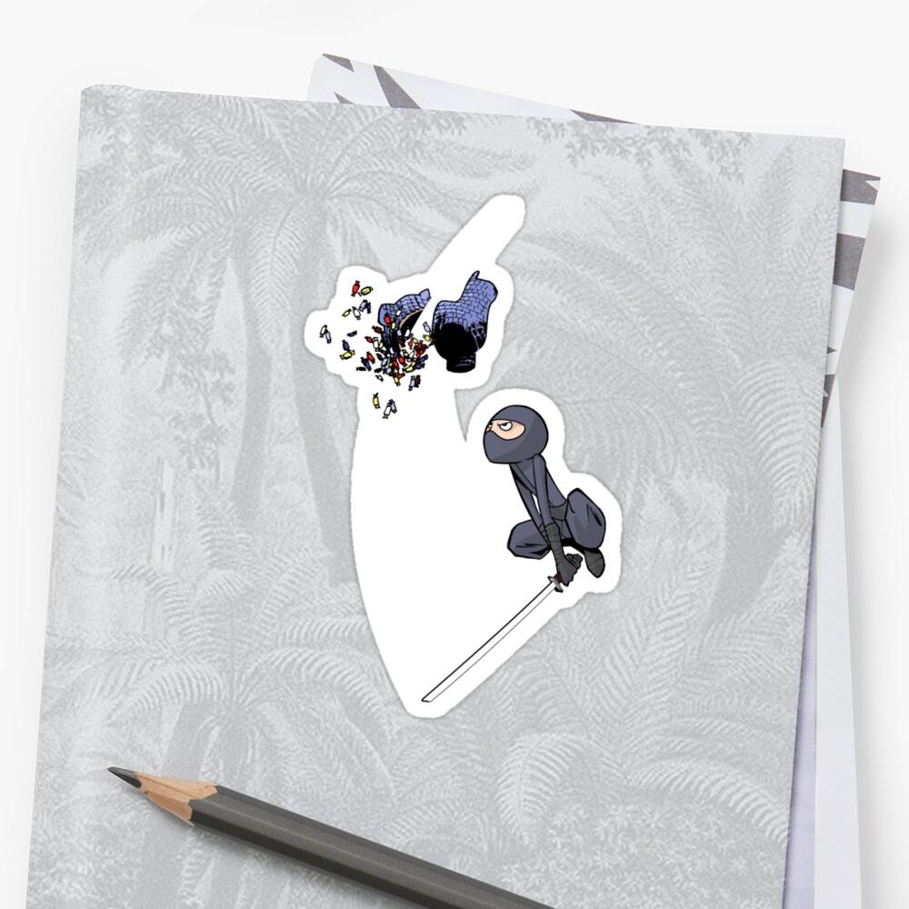 Ninja Piñata by caanan