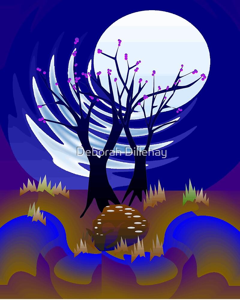 Fawn in the Moonlight by Deborah McCormick