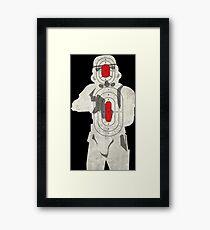 Trooper Target Framed Print