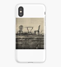 Empty Table iPhone Case/Skin
