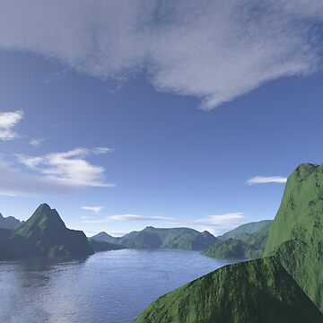 Green Ridge & Water by qqbmed