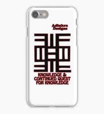 13-iphone4-Adinkra-Series-Knowledge iPhone Case/Skin