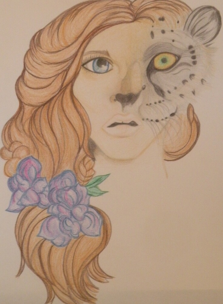 Leopard Girl by tiffanysaffle