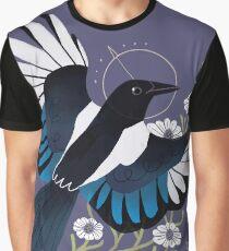 Familiar - European Magpie Graphic T-Shirt
