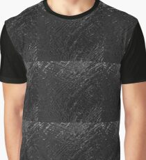 Shiny Water Black | Solid  Graphic T-Shirt