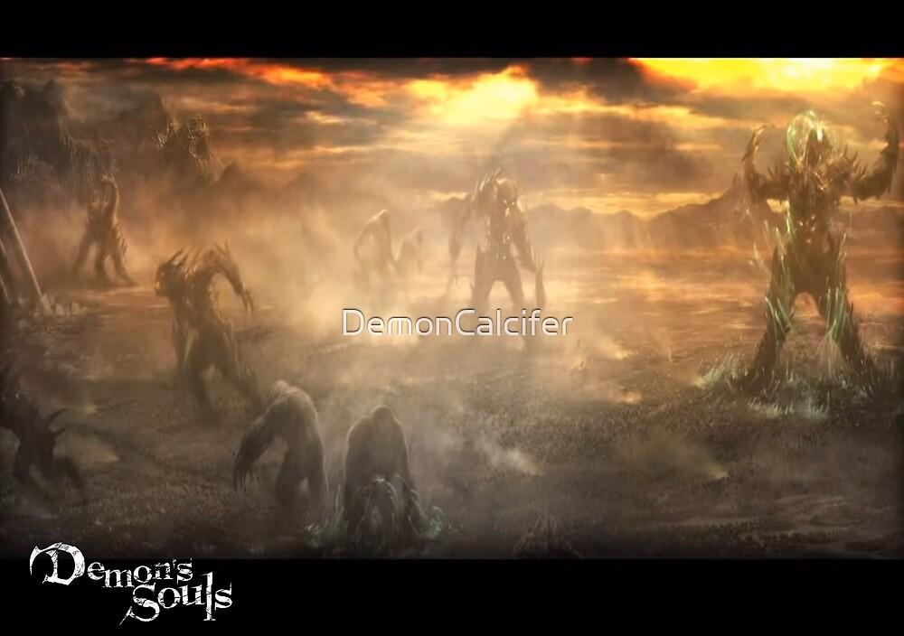 Demon's Souls Demon Battleground by DemonCalcifer