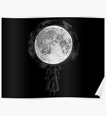 Wish I Was the Moon Poster