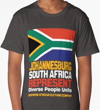 Johanesburg, South Africa, represent Long T-Shirt