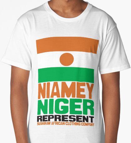 Niamey, Niger, Represent Long T-Shirt