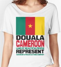 Douala Cameroon, represent Women's Relaxed Fit T-Shirt