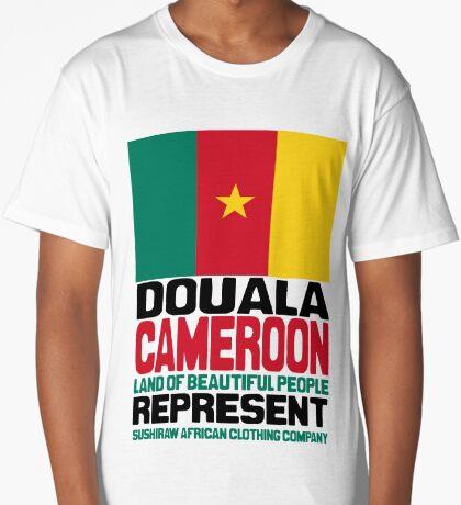 Douala Cameroon, represent Long T-Shirt