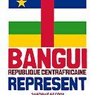 Bangui, Centrafrique. Represent by kaysha