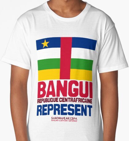 Bangui, Centrafrique. Represent Long T-Shirt