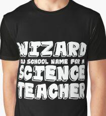Science Teacher Design Graphic T-Shirt