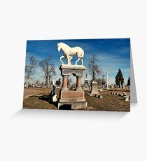 The Final Ride Greeting Card