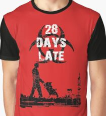 28 Days Late - Single Dad Graphic T-Shirt