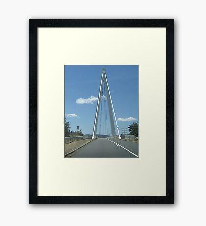 Tas Bridge Framed Print