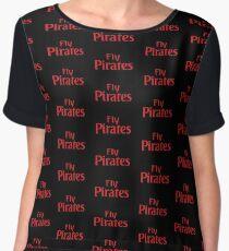 Fly Pirates Women's Chiffon Top