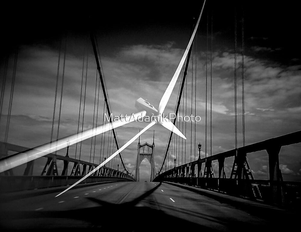 St. Johns Turbine Bridge by MattAdamikPhoto