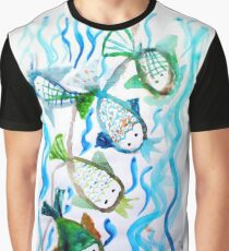 COLOR FISH Graphic T-Shirt