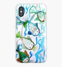 COLOR FISH iPhone Case