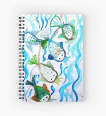 COLOR FISH Spiral Notebook