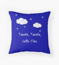 Twinkle, Twinkle, Little star Throw Pillow