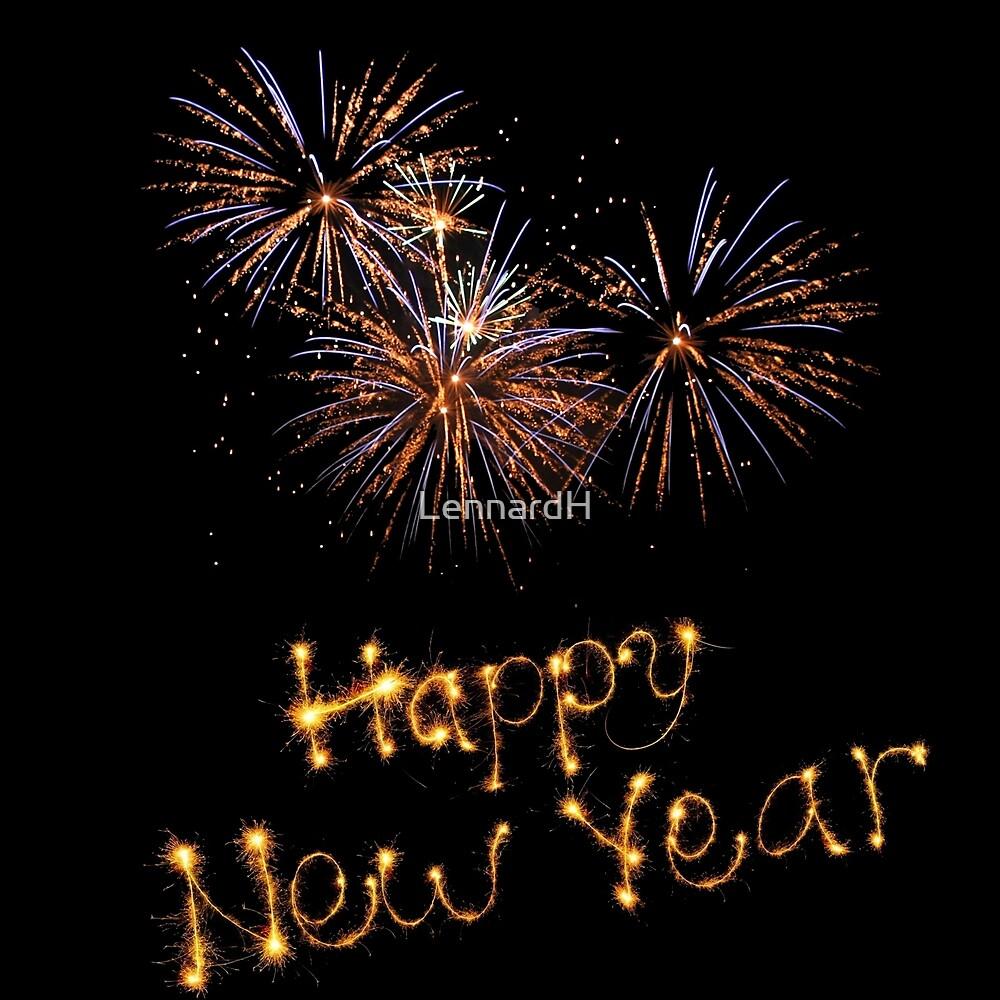 Happy new year by LennardH