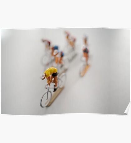 Cyclists 2 Poster