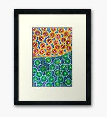 Aboriginal Inspirations # 6 Framed Print