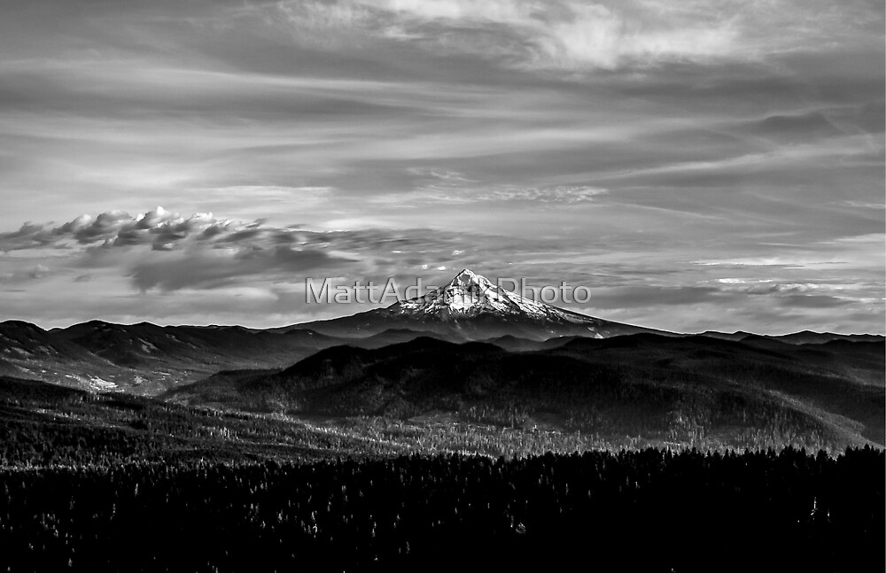 Mt. Hood and Sky #2 by MattAdamikPhoto