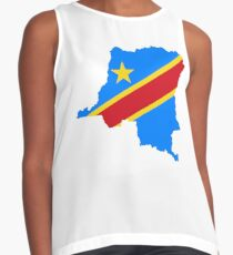Flag of the Democratic Republic of Congo Contrast Tank