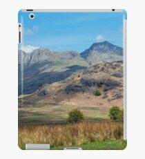 The Langdale Pikes, Lake District National Park iPad Case/Skin