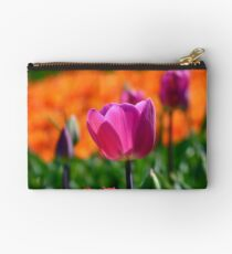 A Little Pink to add more Colour! - Tulip Plantation - NZ Studio Pouch