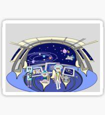 Spaceship Pegatina