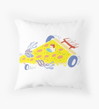 Speedy Pizza Delivery ™ Throw Pillow