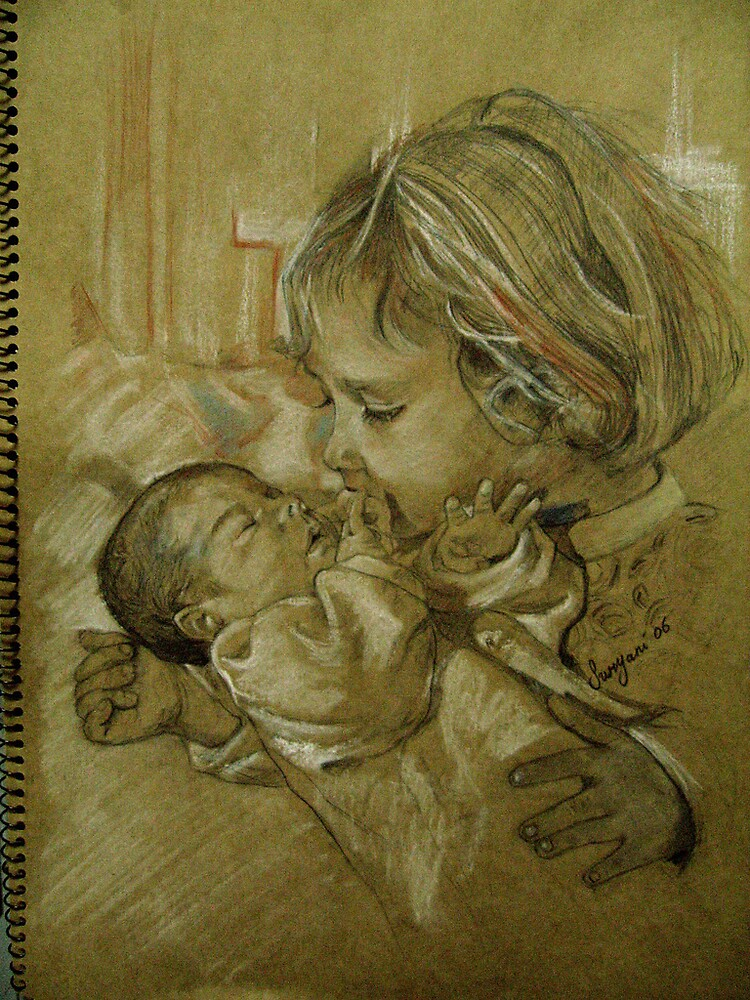 me and my my newsister by Suryani Shinta