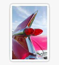 1959 Cadillac Eldorado Taillight- Pink -374c Sticker