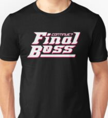 Final Boss Unisex T-Shirt