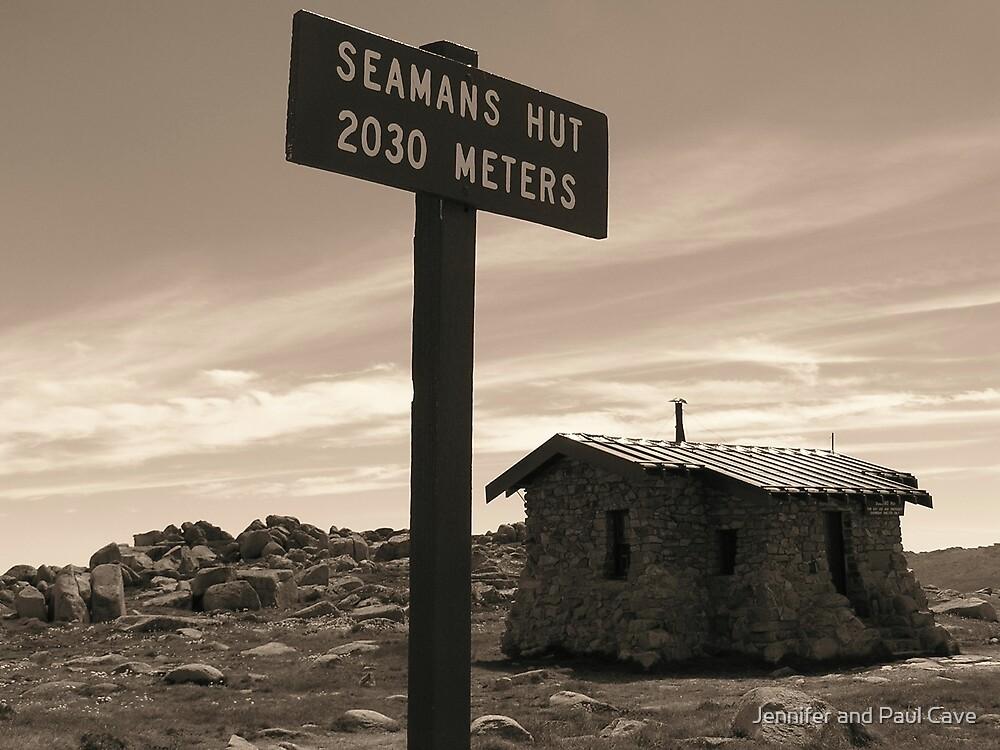 Seamans Hut by Jennifer and Paul Cave