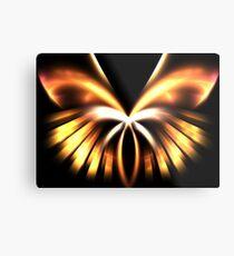 Copper Angel Metal Print