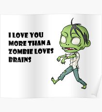 Geek Love: More than a Zombie Loves Brains Poster