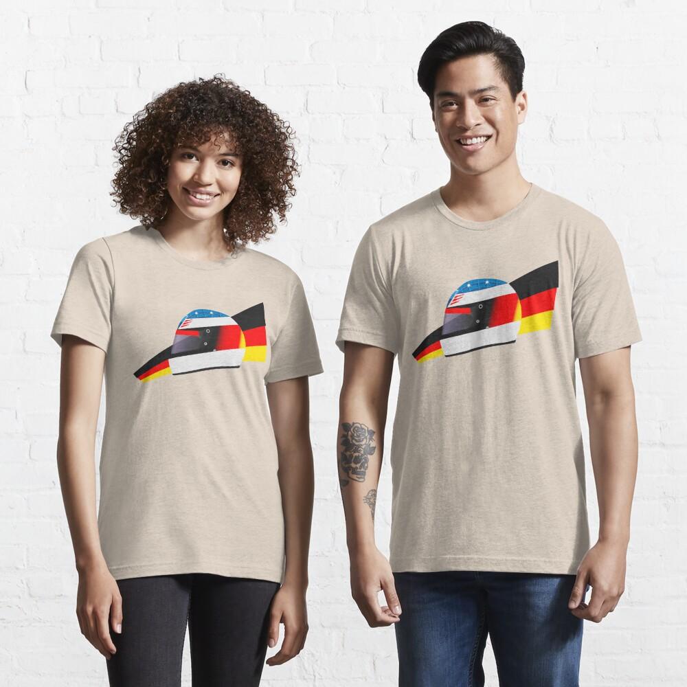 German racing driver helmet Essential T-Shirt