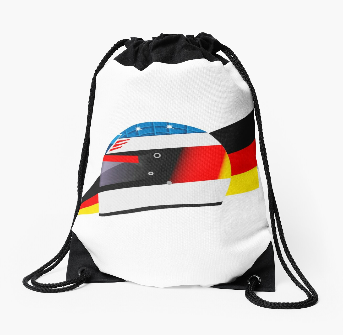 German racing driver helmet by FelixR1991