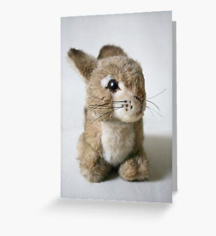 "Lil"" Cuddly Rabbit Greeting Card"
