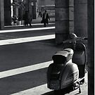 Scooter in Rome by Flo Smith