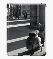 Scooter in Rome iPad Case/Skin