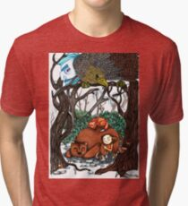 Odd and the Frost Giants Tri-blend T-Shirt