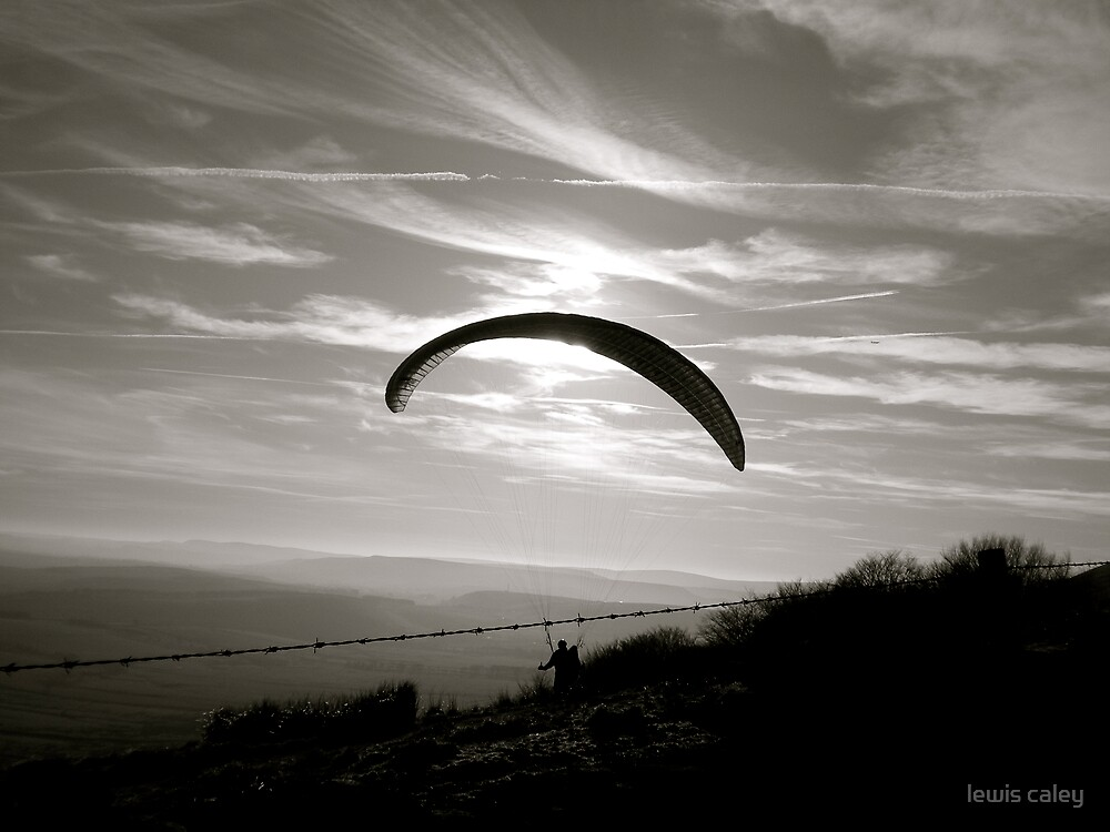 Flying :) by lewis caley